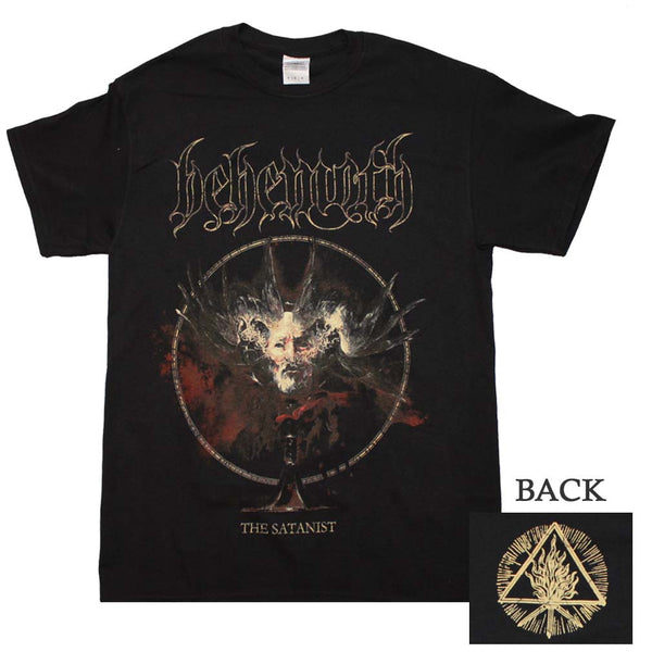 Behemoth Satanist Cover Art T-Shirt available at Rocker Tee Shirts