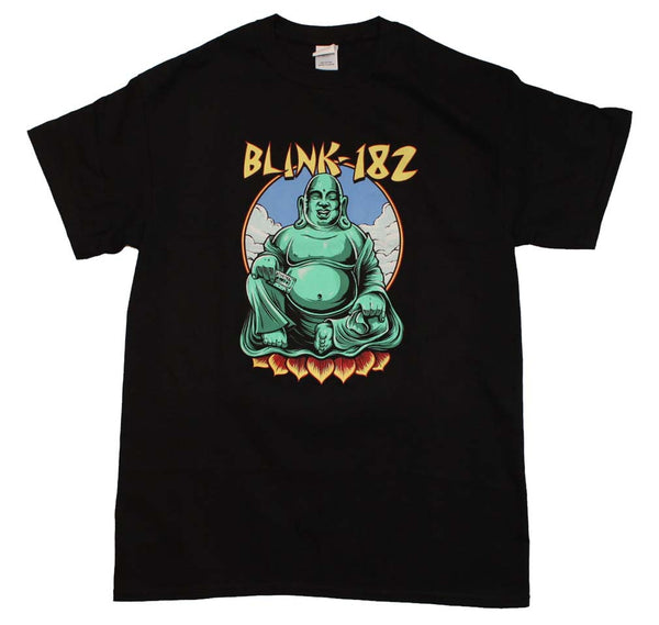 Blink 182 T-Shirt Featuring The Buddha and it's available at RockerTeeShirts.com