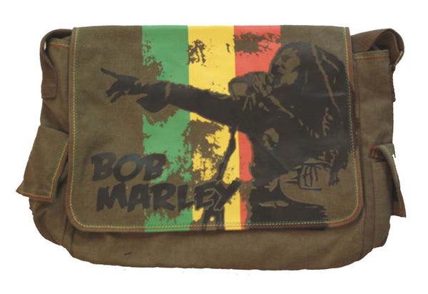 Bob Marley Messenger Bag available at RockerTeeShirts.com