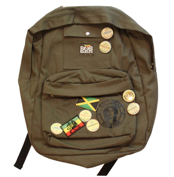 Zion Bob Marley Backpack A Great Music Collectible