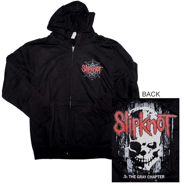 Slipknot The Gray Chapter Skull Hoodie Sweatshirt is available at Rocker Tee