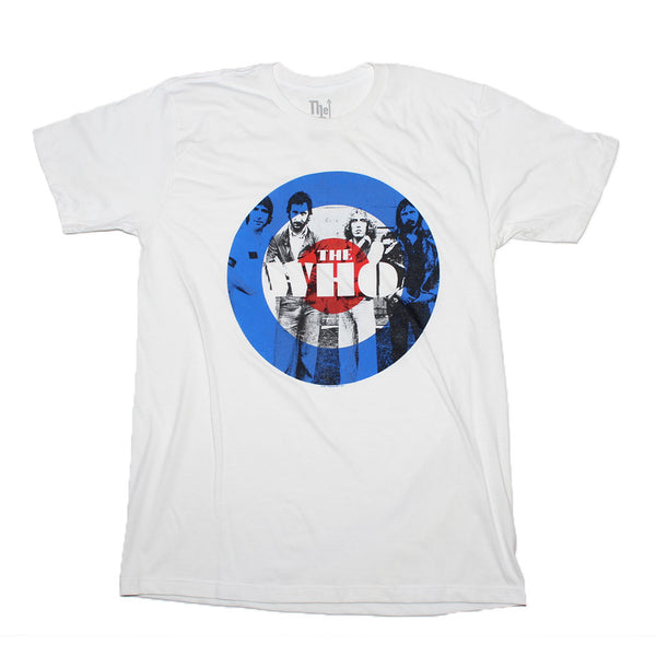 The Who classic target t-shirt is available at Rocker Tee