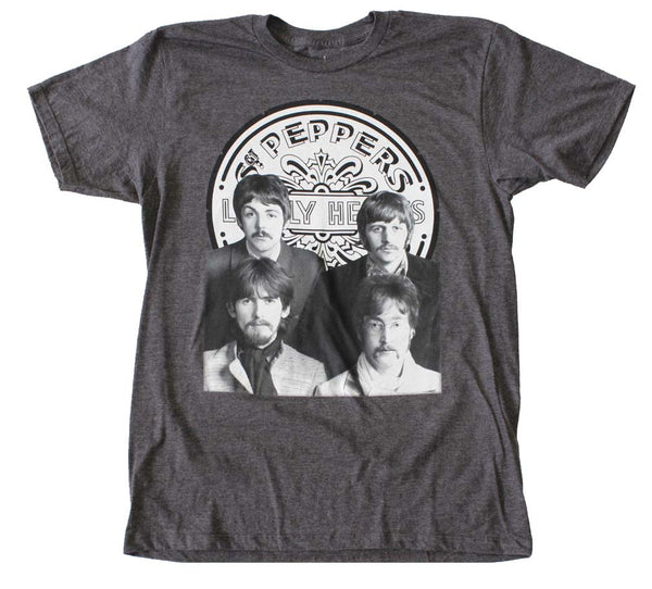 Beatles Sergeant Peppers Lonely Hearts Club Band T-Shirt. is available at Rocker Tee Shirts
