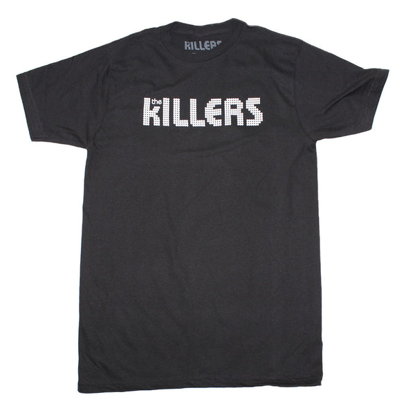The Killers Classic White Logo T-Shirt is available at Rocker Tee
