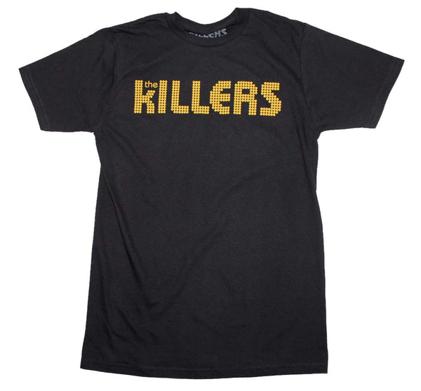 The Killers Orange Logo Band T-Shirt is available at Rocker Tee