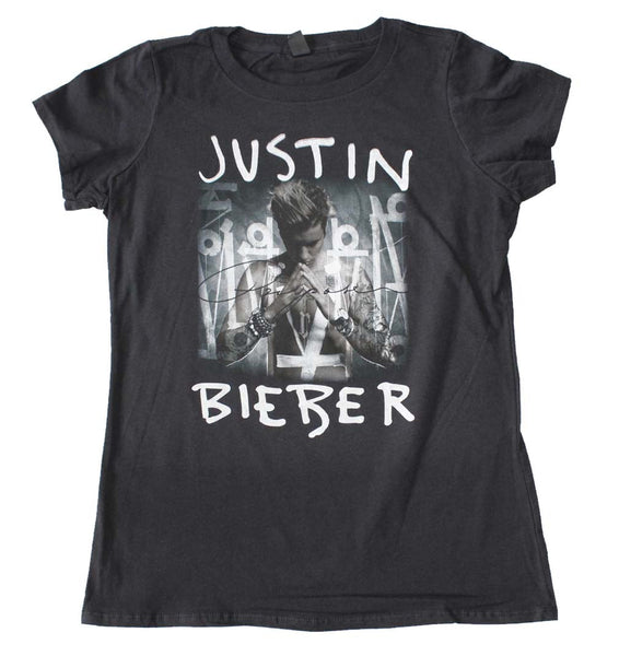 Justin Bieber Purpose T-Shirt For Girls is available at Rocker Tee Shirts