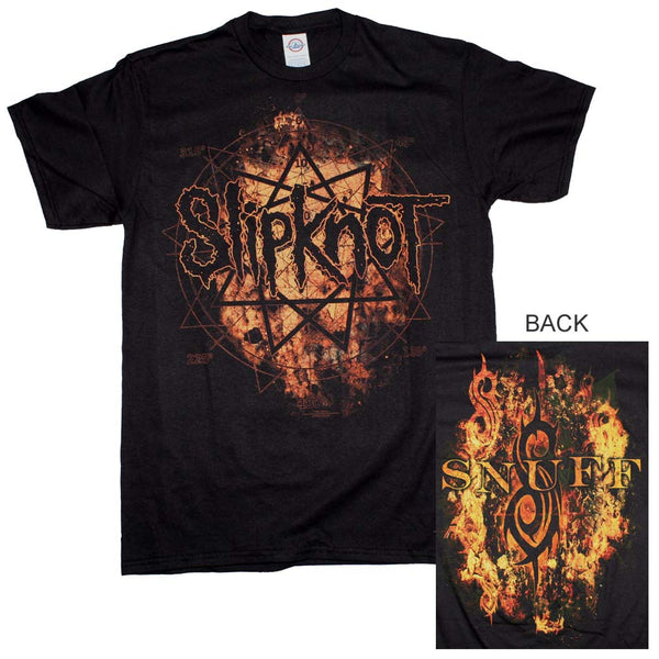 Slipknot Radio Fires T-Shirt is available at Rocker Tee.