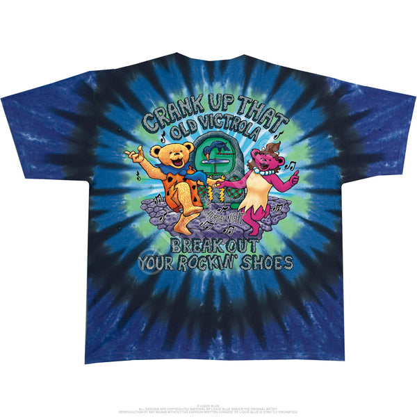 Grateful Dead Deadrock Tie-Dye T-Shirt is available at Rocker Tee Shirts