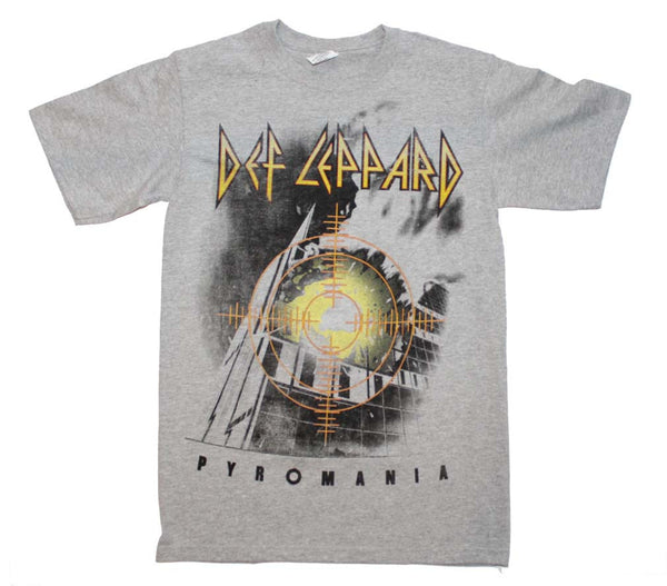 Def Leppard Pyromania T-Shirt available at RockerTeeShirts.com