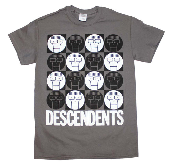 Descendents Milo Circle Pattern T-Shirt