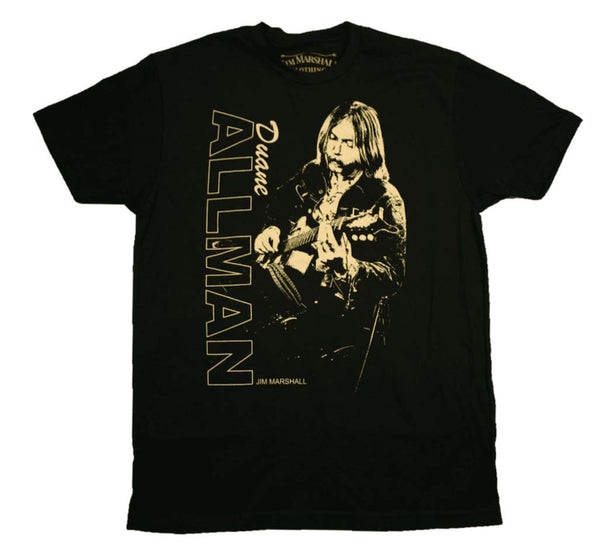 Duane Allman T-Shirt Featuring Jim Marshall Photography is available at Rocker Tee