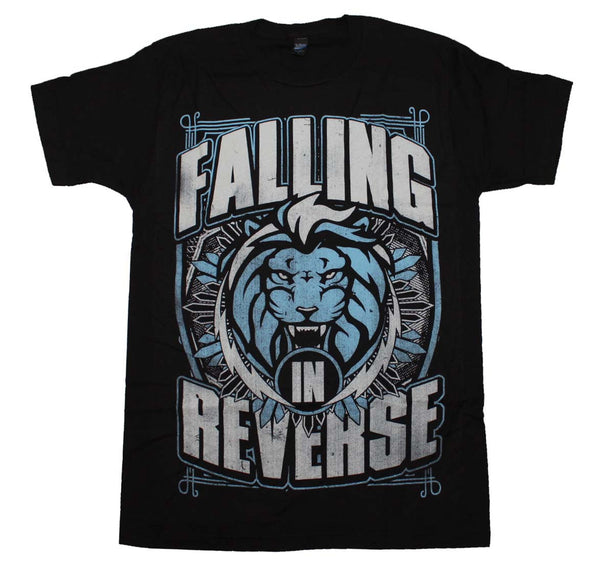 Falling in Reverse T-Shirt Featuring The Lion Shield and it's available at RockerTeeShirts.com