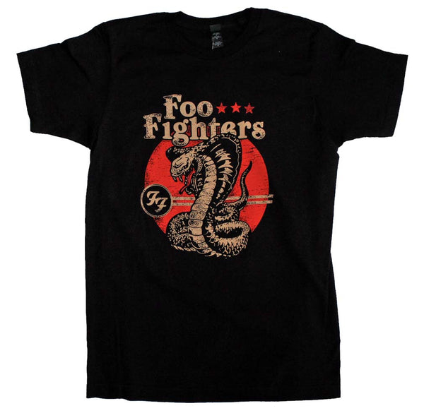 Foo Fighters Cobra Rock T-Shirt available at RockerTeeShirts.com