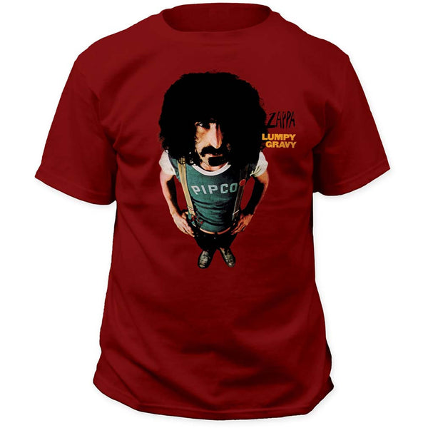 Frank Zappa T-Shirt Featuring Lumpy Gravy  and it's available at RockerTeeShirts.com
