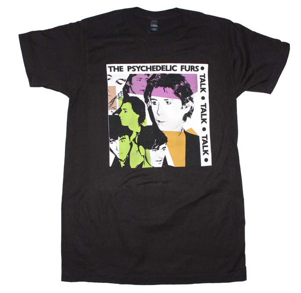 Psychedelic Furs Talk Talk Talk Fitted T-Shirt is available at Rocker Tee