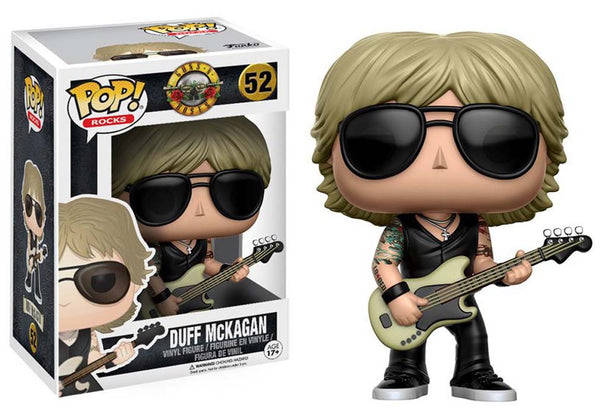 Guns n Roses Duff Mckagan Pop Rocks Vinyl Figure From Funko Toys is available at Rocker Tee.