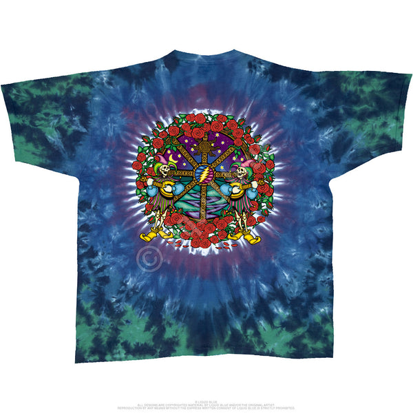 Grateful Dead Celtic Mandala Tie-Dye T-Shirt is available at Rocker Tee Shirts
