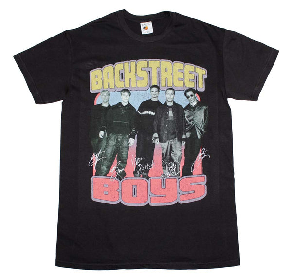 Backstreet Boys Vintage Destroyed T-Shirt is available at Rocker Tee.