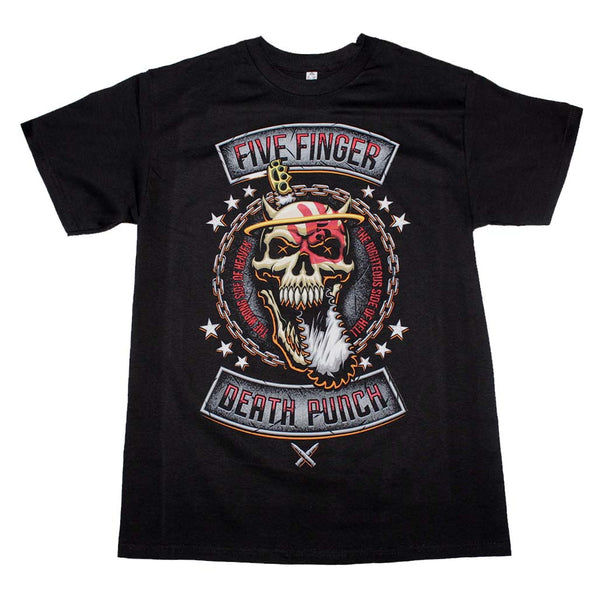 Five Finger Death Punch Rebellion T-Shirt