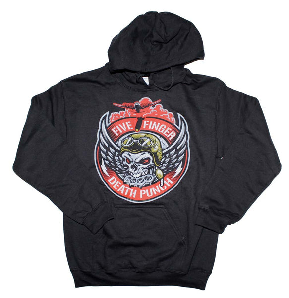 Five Finger Death Punch Bomber Patch Hoodie Sweatshirt is available at rockerteeshirts.com