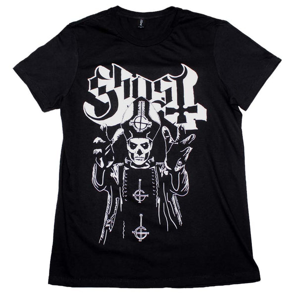 Ghost Papa Wrath T-Shirt is available at Rocker Tee