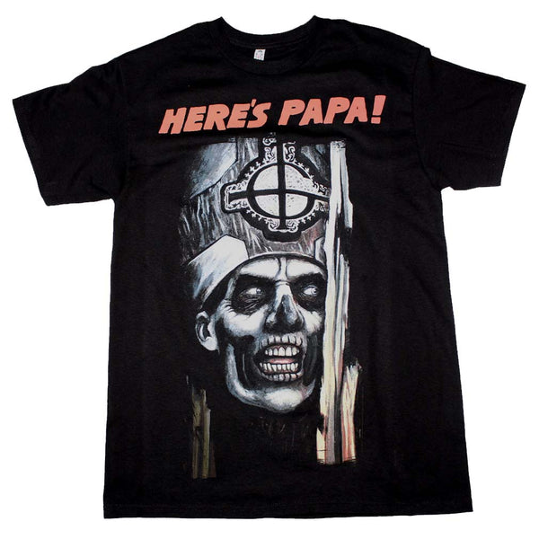 Ghost Here's Papa T-Shirt is available at Rocker Tee