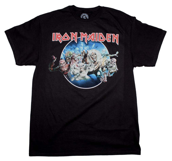 Iron Maiden Wasted Years T-Shirt is available at rockerteeshirts.com