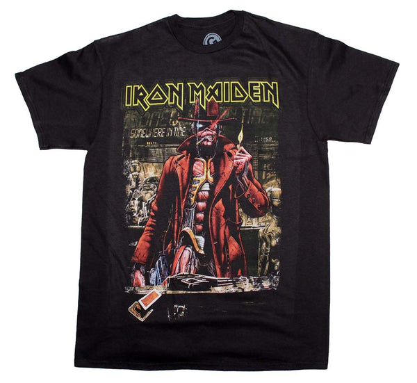Iron Maiden Stranger Sepia Band T-Shirt is available at rockerteeshirts.com