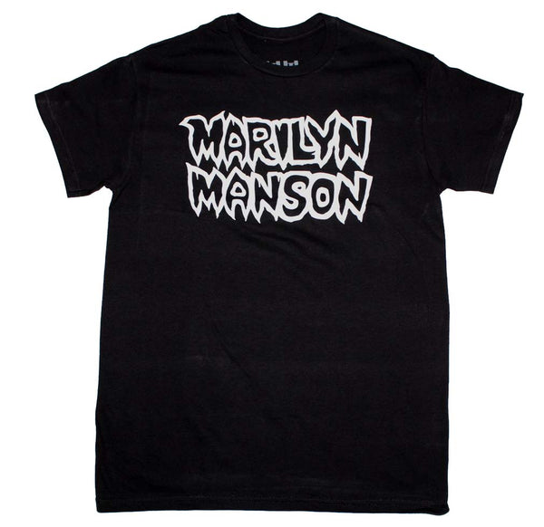 Marilyn Manson Classic Logo T-Shirt is available at Rocker Tee
