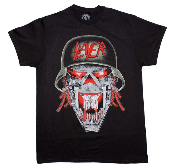 Slayer Laughing Skull T-Shirt is available at Rocker Tee.