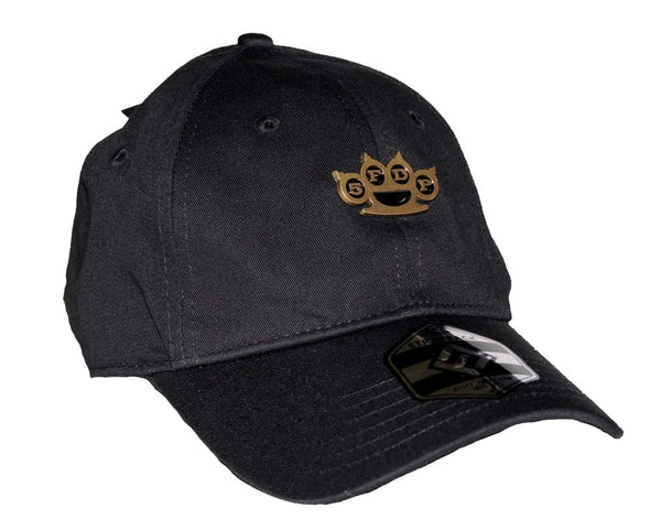Five Finger Death Punch Brass Knuckles Hat is available at rockerteeshirts.com