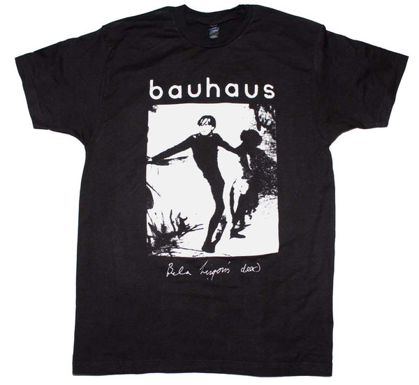 Bauhaus Bela Lugosi's dead t-shirt is vailable at Rocker Tee.