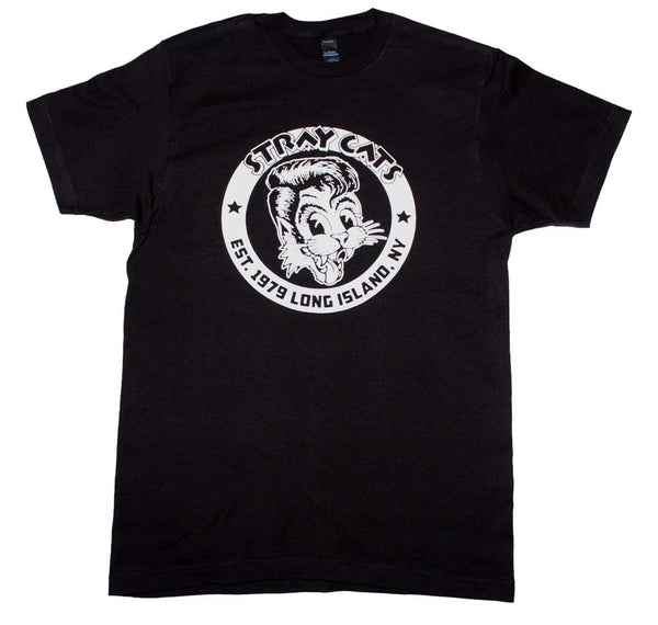 Stray Cats Established 1979 T-Shirt is available at Rocker Tee
