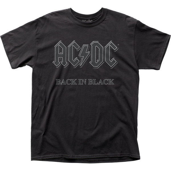 AC/DC Back in Black T-Shirt is available at Rocker Tee.