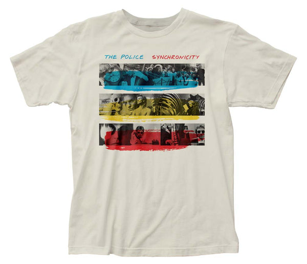 The Police Synchronicity T-Shirt is available at Rocker Tee