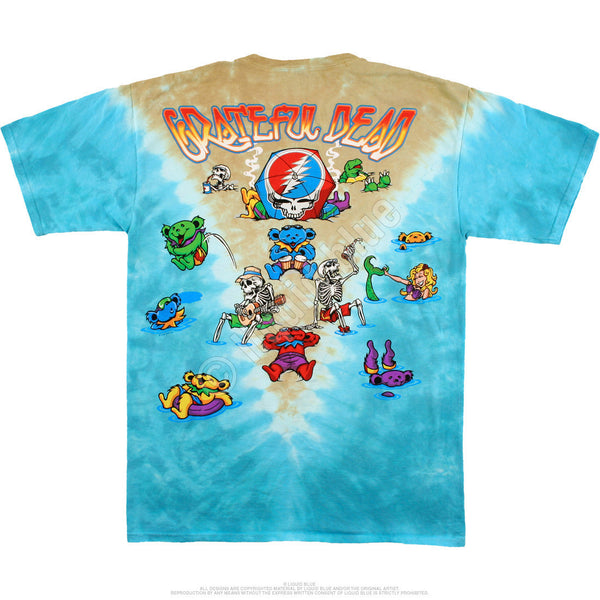 Grateful Dead Jam Bake Tie-Dyed T-Shirt is available at Rocker Tee Shirts.