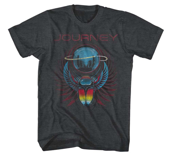 Journey Winged Scarab Beetle T-Shirt is available at Rocker Tee
