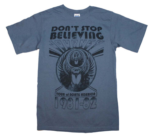 Journey Don't Stop Believing Event T-Shirt is available at rockerteeshirts.com