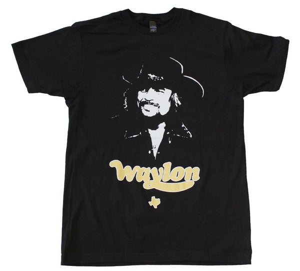 Waylon Jennings Texas Tee is available at Rocker Tee.