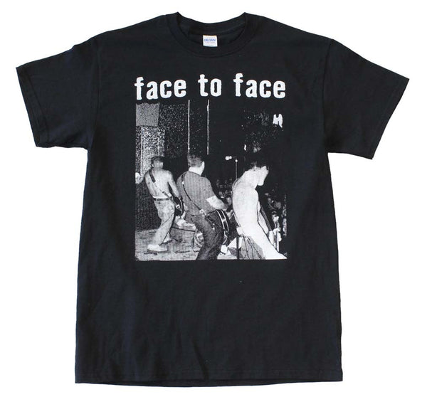 Face to Face Live on stage t-shirt is available at Rocker Tee