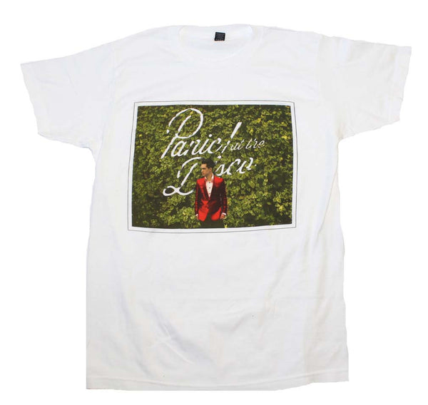 Panic at the Disco T-Shirt Featuring The Bush Photo available at RockerTeeShirts.com