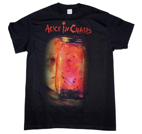 Alice in Chains Jar of Flies T-Shirt is available at Rocker Tee.