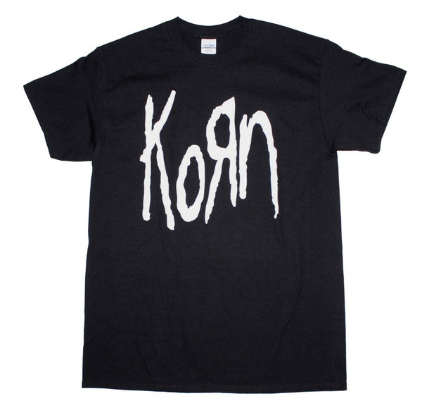 Korn classic logo t-shirt is available at Rocker Tee