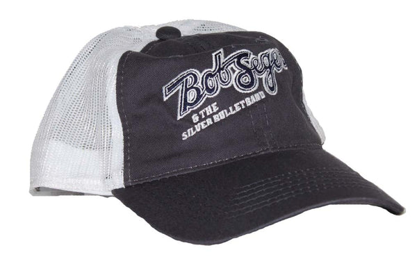 Bob Seger & The Silver Bullet Band truckers hat is available at rockerteeshirts.com