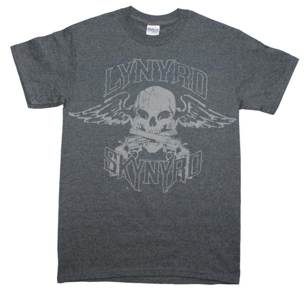 Lynyrd Skynyrd T-Shirt Featuring The Winged Skull Logo