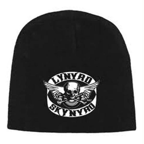 Lynyrd Skynyrd Flying Skull Beanie is available at RockerTeeShirts.com