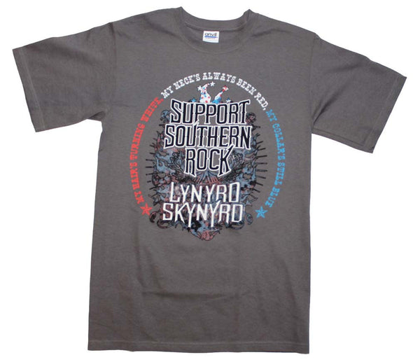 Lynyrd Skynyrd T-Shirt Featuring Support Southern Rock