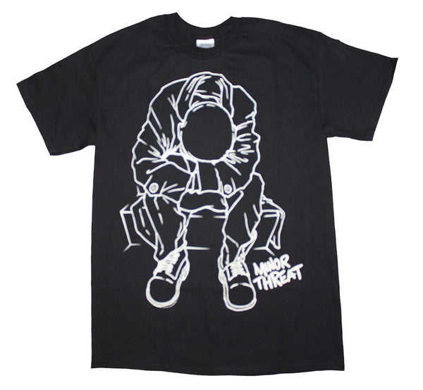 Minor Threat T-Shirt Featuring Album Cover Art