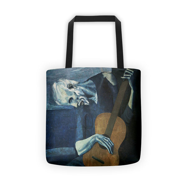 Picasso The Old Guitarist Tote bag