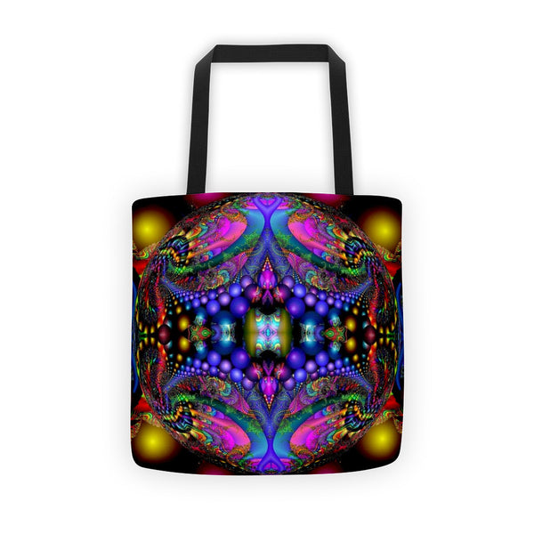 Mandala Art Tote bag available at Rocker Tee Shirts.com